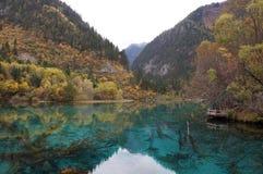 Lake i berg Fotografering för Bildbyråer