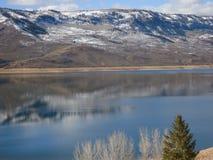Lake i bergen Royaltyfri Fotografi