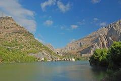 Lake i bergen Arkivbild