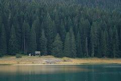 Lake i bergen Arkivbilder