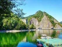 Lake i bergen Royaltyfria Foton