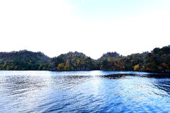 Lake i höst Royaltyfria Foton