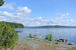Lake i nationalpark Arkivbilder