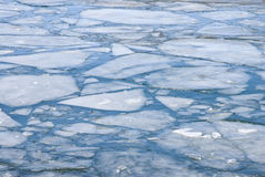 Lake ice Royalty Free Stock Photography