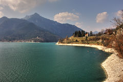 Lake Idro. Royalty Free Stock Images
