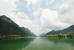 Lake Idro in Lombardy, Italy Royalty Free Stock Image