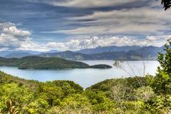 Lake at Ilha Grande. Brazil Royalty Free Stock Images