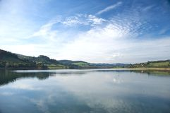 Lake In Asturias Royalty Free Stock Photography