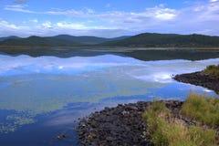 Lake In Morning Stock Photos