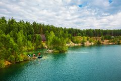 Free Lake In The Forest. Western Siberia,Russia Royalty Free Stock Photography - 122953737