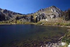 Lake In Wasatch Mountains Royalty Free Stock Photo