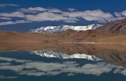 Lake in the Indian Himalaya Stock Photography