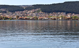Lake of Ioannina city of Greece Stock Photo