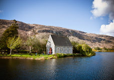 Lake in  Ireland Stock Photo