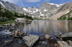 Lake Isabelle Stock Image