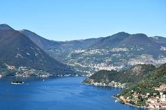 Free Lake Iseo And A Glimpse Of Monte Isola - Brescia - Italy Stock Photos - 105970983