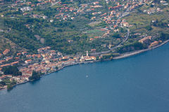 Lake Iseo, Italy Royalty Free Stock Images
