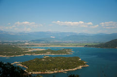 Lake island Royalty Free Stock Photos