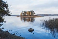 lake island Stock Photography