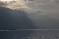 Lake Italy Melancholy Stock Photos