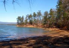 Lake James. State Park near Morganton, North Carolina. The lake is a 6,812 acre reservoir royalty free stock photos