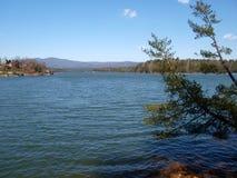 Lake James. State Park near Morganton, North Carolina. The lake is a 6,812 acre reservoir stock images