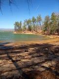 Lake James. State Park near Morganton, North Carolina. The lake is a 6,812 acre reservoir stock photography