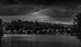 Lake James Storm royalty free stock image