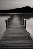 Lake Jetty at Coniston water Royalty Free Stock Images