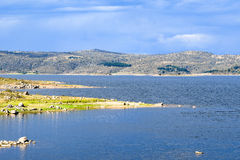 Lake Jindabyne foreshore in Australia Stock Image
