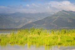 Lake Jipe, Tsavo West National Park, Kenya Stock Photos