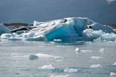 Lake jokulsarlon. Iceberg blue Jokulsarlon lake in Iceland Royalty Free Stock Photo