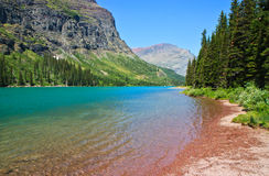 Lake Josephine, Glacier National Park, Montana Royalty Free Stock Photography