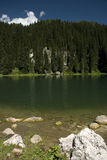 Lake in Julian Alps, Slovenia. Stock Images