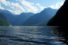 Lake Königsee Royalty Free Stock Photos