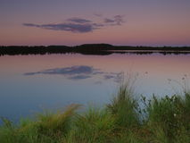 Lake Kakerdaja, dawn Royalty Free Stock Photography