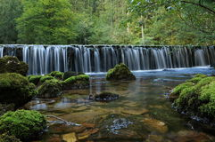 Lake in Kamninska Bistrica Slovenia royalty free stock images