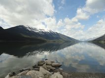 Lake Kanada Arkivbild
