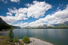 A lake in Kananaskis Country royalty free stock photos