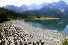 Lake in Kananaskis Country - Alberta - Canada Royalty Free Stock Photos