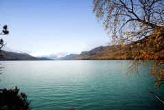 Lake Kanas Royalty Free Stock Photo