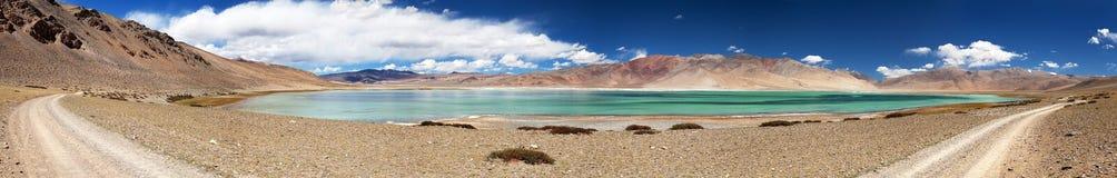 Lake Kar or Tso Kar - Rupshu valley, Ladakh Stock Images