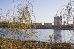 Lake Karasun in Krasnodar Royalty Free Stock Photo