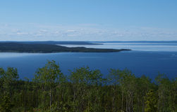 Lake Of Karelia Royalty Free Stock Photography