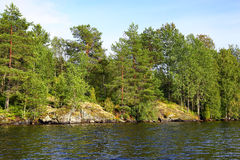 Lake in Karelia Royalty Free Stock Images