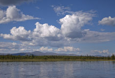 Lake in Karelia Royalty Free Stock Photo