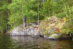 Lake in Karelia Royalty Free Stock Photos