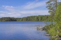 Lake in Karelia. Royalty Free Stock Photography