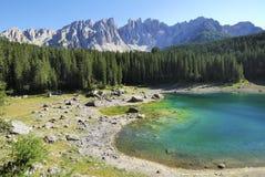 Lake Karrersee Stock Image