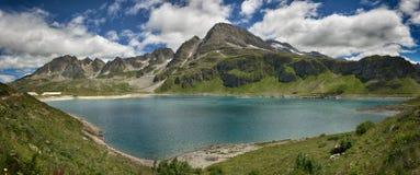 Lake Kastel, Formazza Valley Stock Image